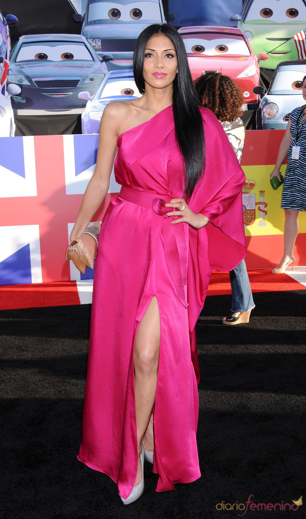Nicole Scherzinger en la premiere de 'Cars 2' en Los Ángeles
