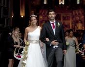 Raúl Albiol se casa con Alicia Roig en Valencia