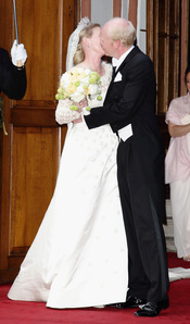 Natalia de Dinamarca y Alexander Johannsmann se besan tras casarse