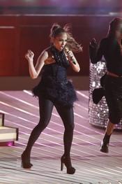 Jennifer Lopez durante su actuación en el '¿Qué apostamos?' alemán