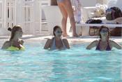 María José Suárez, Raquel Rodríguez y Elisabeth Reyes, de vacaciones en Marbella