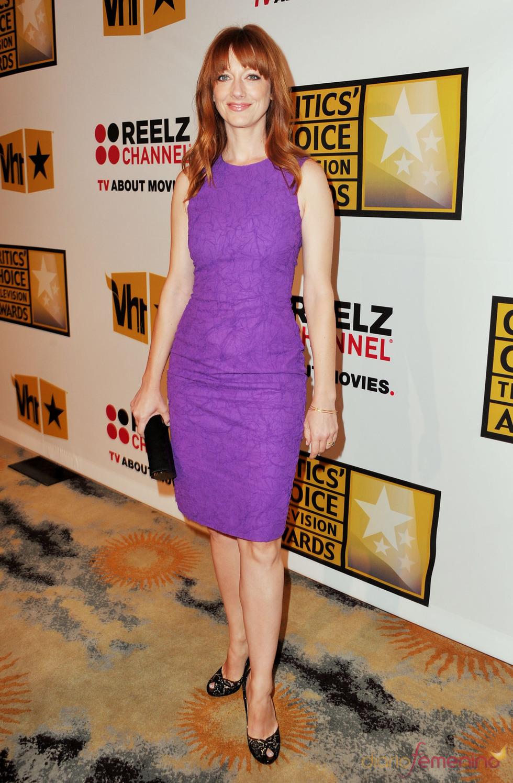 Judy Greer en los Critics' Choice Television Awards de 2011