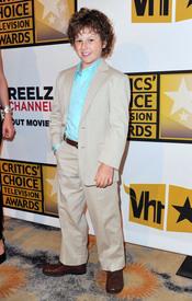 Nolan Gould, de 'Modern Family', en los Critics' Choice Television Awards de 2011