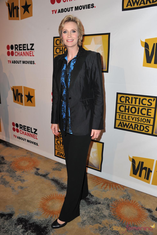 Jane Lynch, de 'Glee', en los Critics' Choice Television Awards de 2011