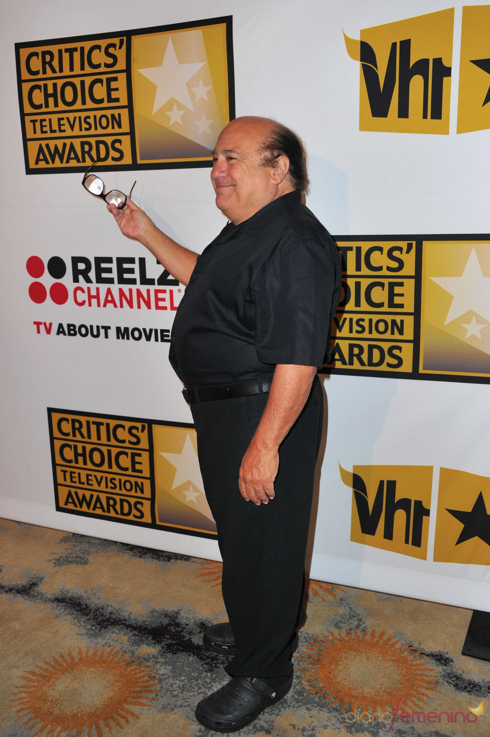 Danny DeVito en los Critics' Choice Television Awards de 2011