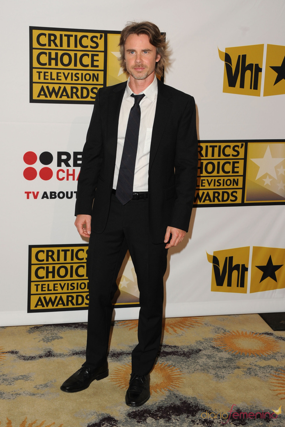 Sam Trammell, de 'True Blood', en los Critics' Choice Television Awards de 2011