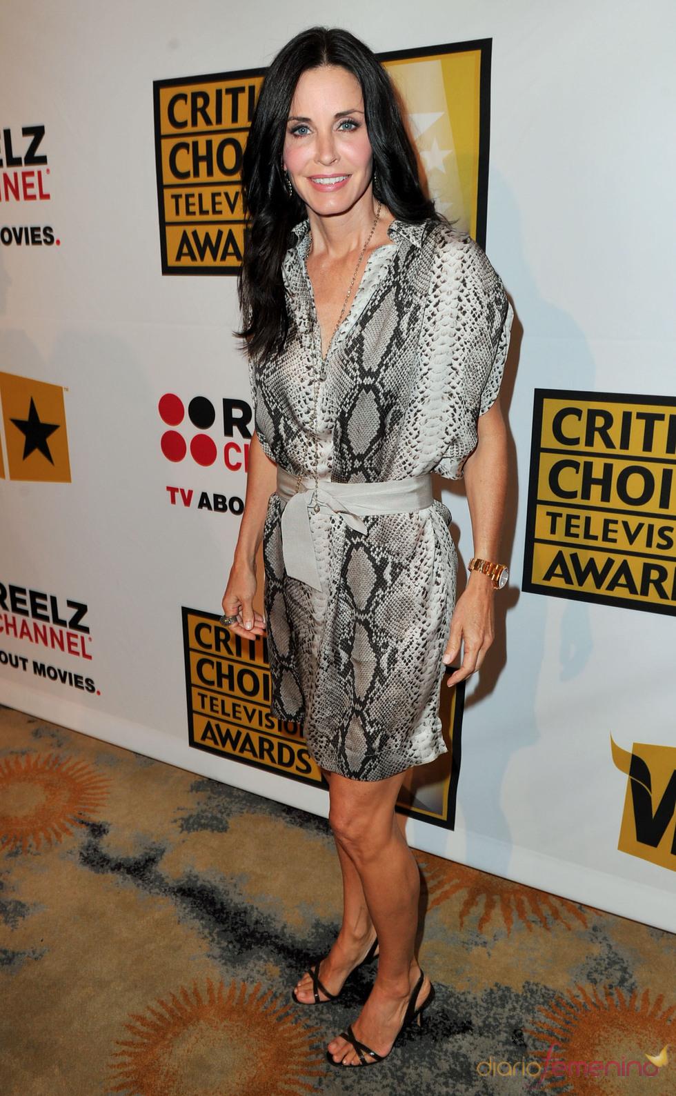 Courtney Cox en los Critics' Choice Television Awards de 2011