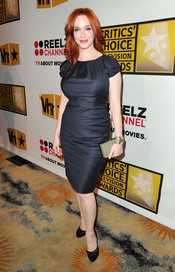 Christina Hendricks, de 'Mad Men', en los Critics' Choice Television Awards de 2011