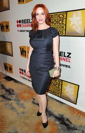Christina Hendricks, de 'Mad Men', en los Critics' Choice Television Awards de 2011
