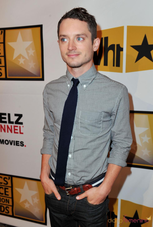 Elijah Wood en los Critics' Choice Television Awards de 2011