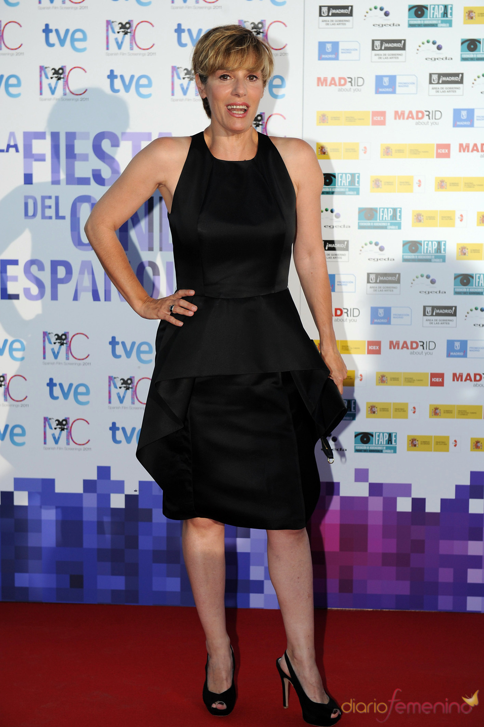 Anabel Alonso en la Fiesta del Cine español
