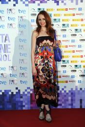 Cristina Castaño en la Fiesta del Cine español