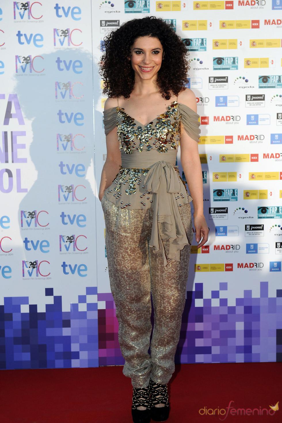 Irene Visedo en la Fiesta del Cine español