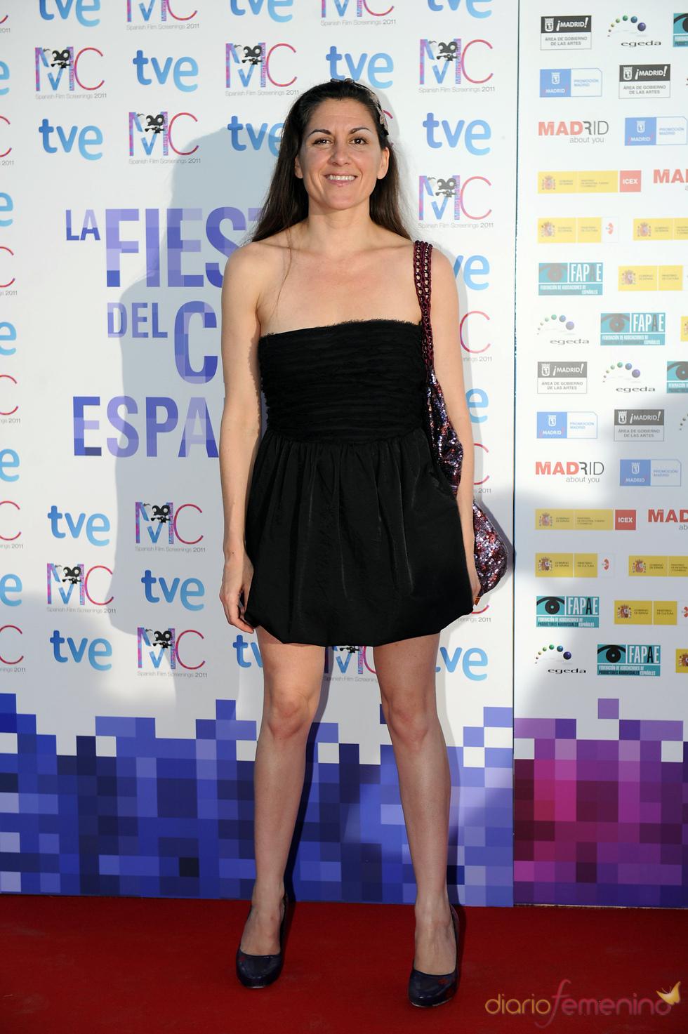 Ana Rayo en la Fiesta del Cine español