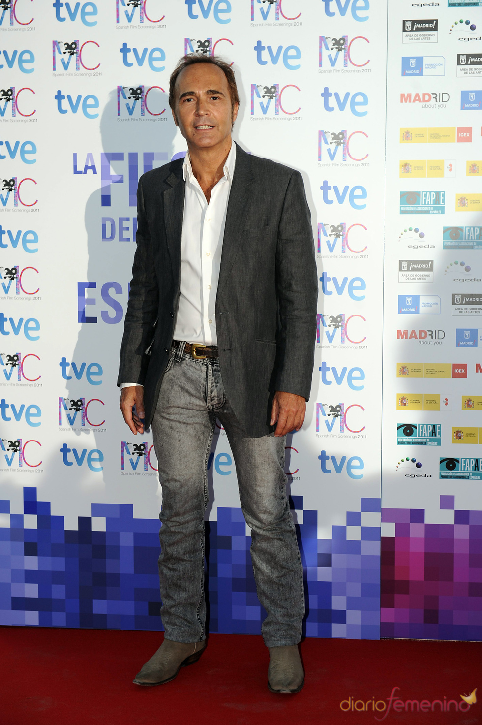 Juan Ribó en la Fiesta del Cine español