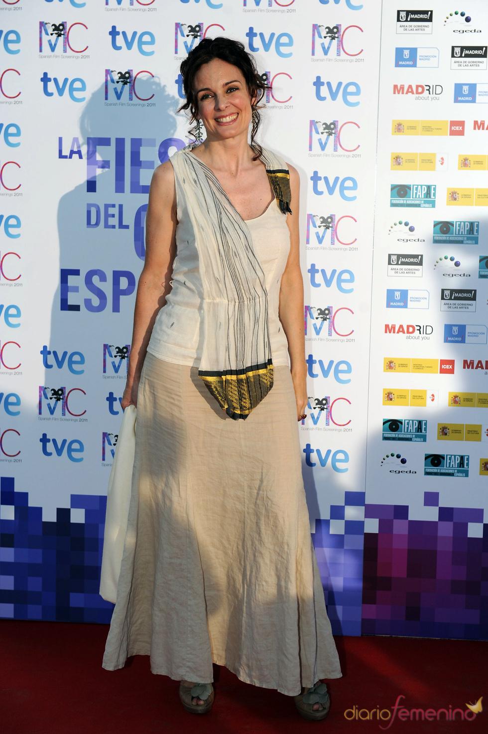 Silvia Marsó en la Fiesta del Cine español