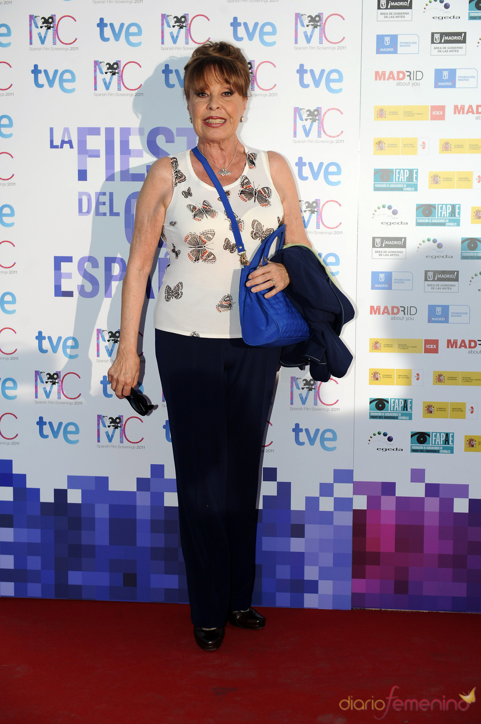 Gemma Cuervo en la Fiesta del Cine español