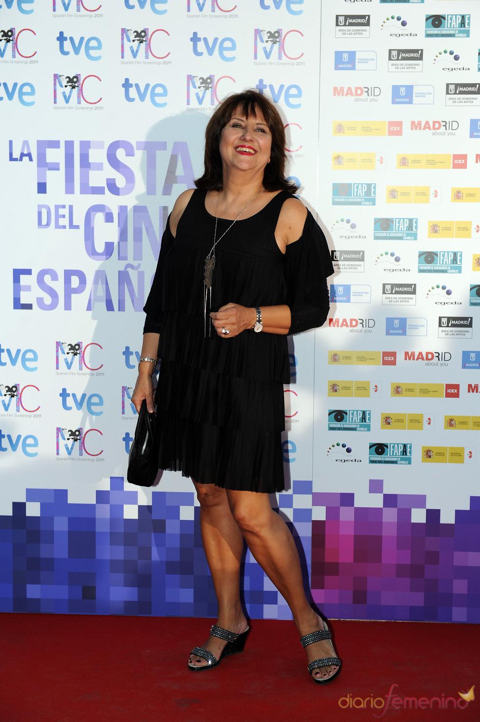 Soledad Mallol en la Fiesta del Cine español