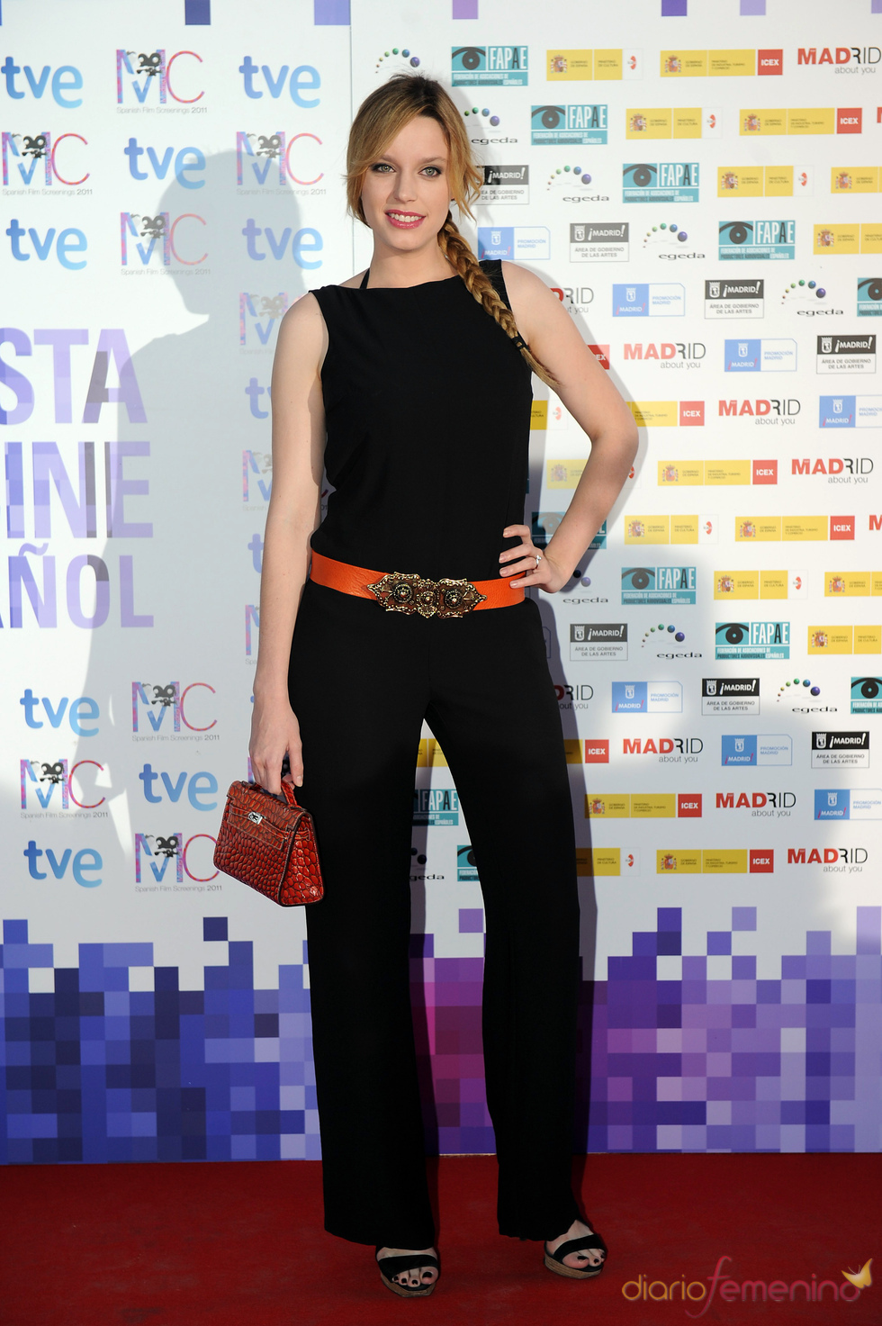 Carolina Bang en la Fiesta del Cine español