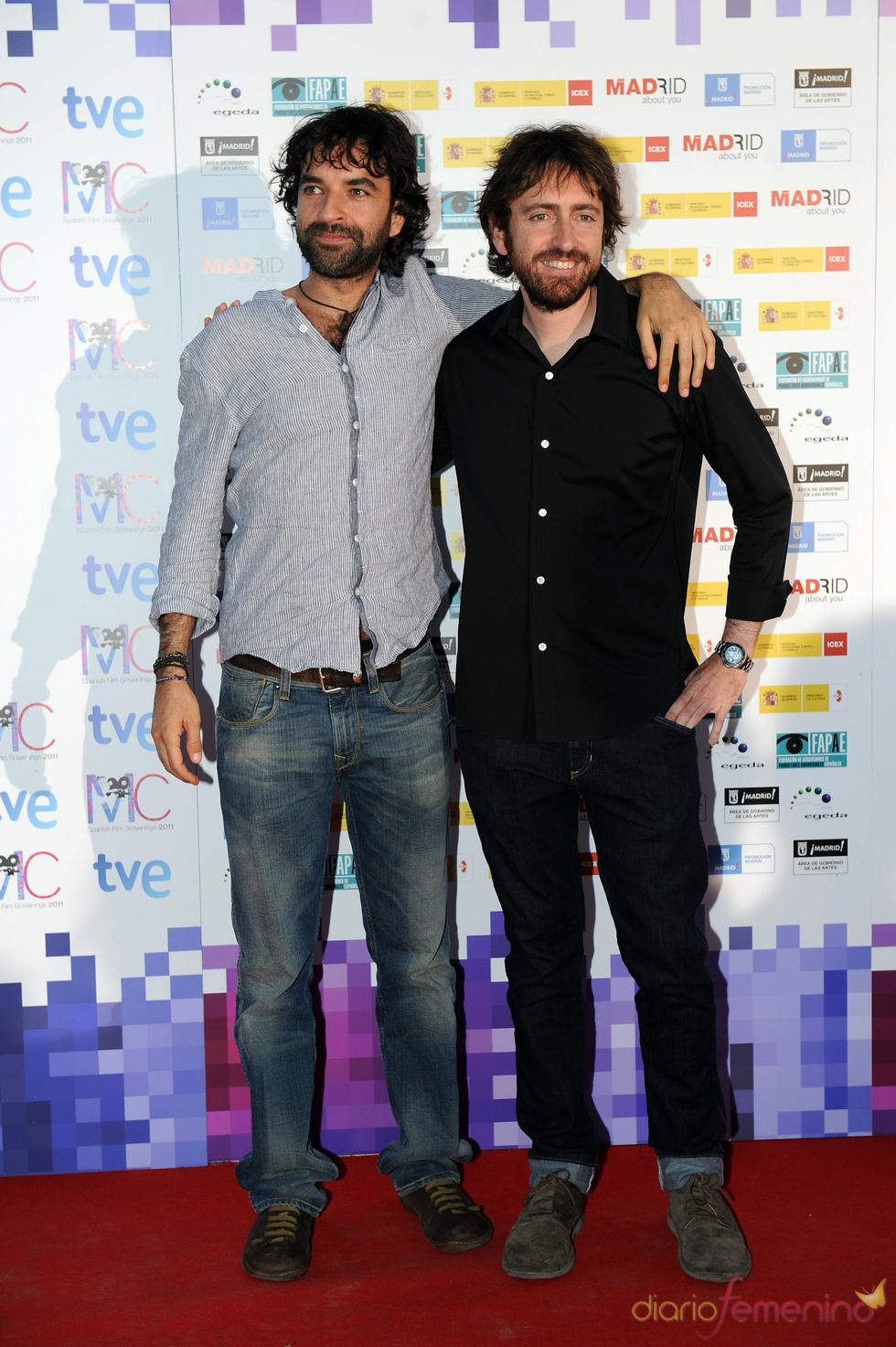Daniel Sánchez Arévalo y Mateo Gil en la Fiesta del Cine español