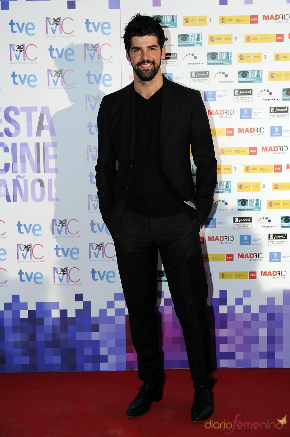 Miguel Ángel Muñoz en la Fiesta del Cine español