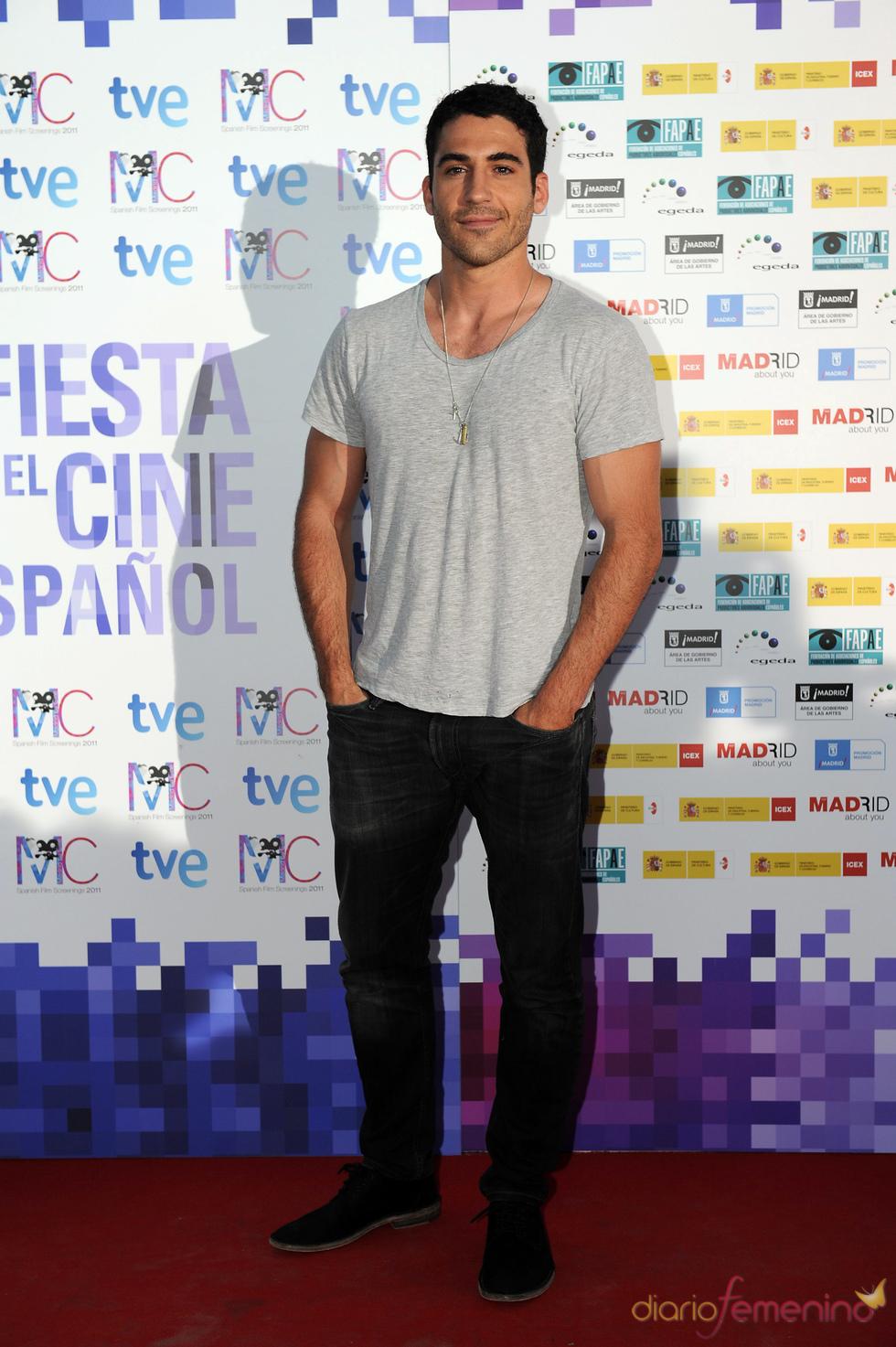 Miguel Ángel Silvestre en la Fiesta del Cine español