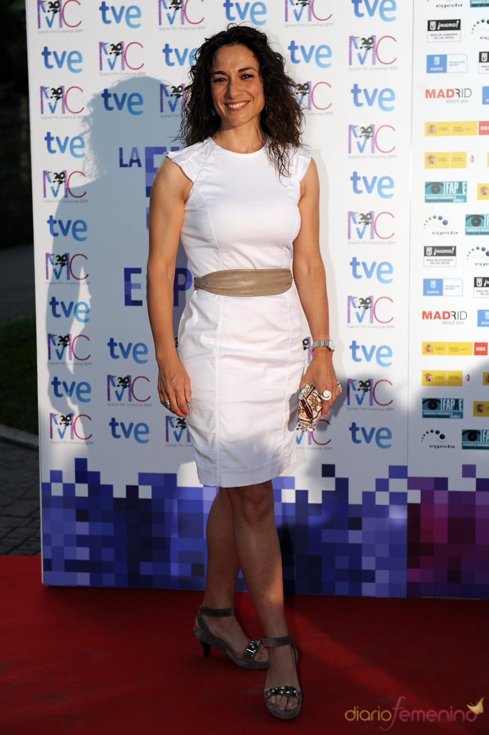 Isabel Serrano en la Fiesta del Cine español