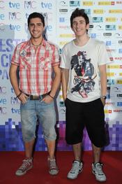 David Castillo en la Fiesta del Cine español