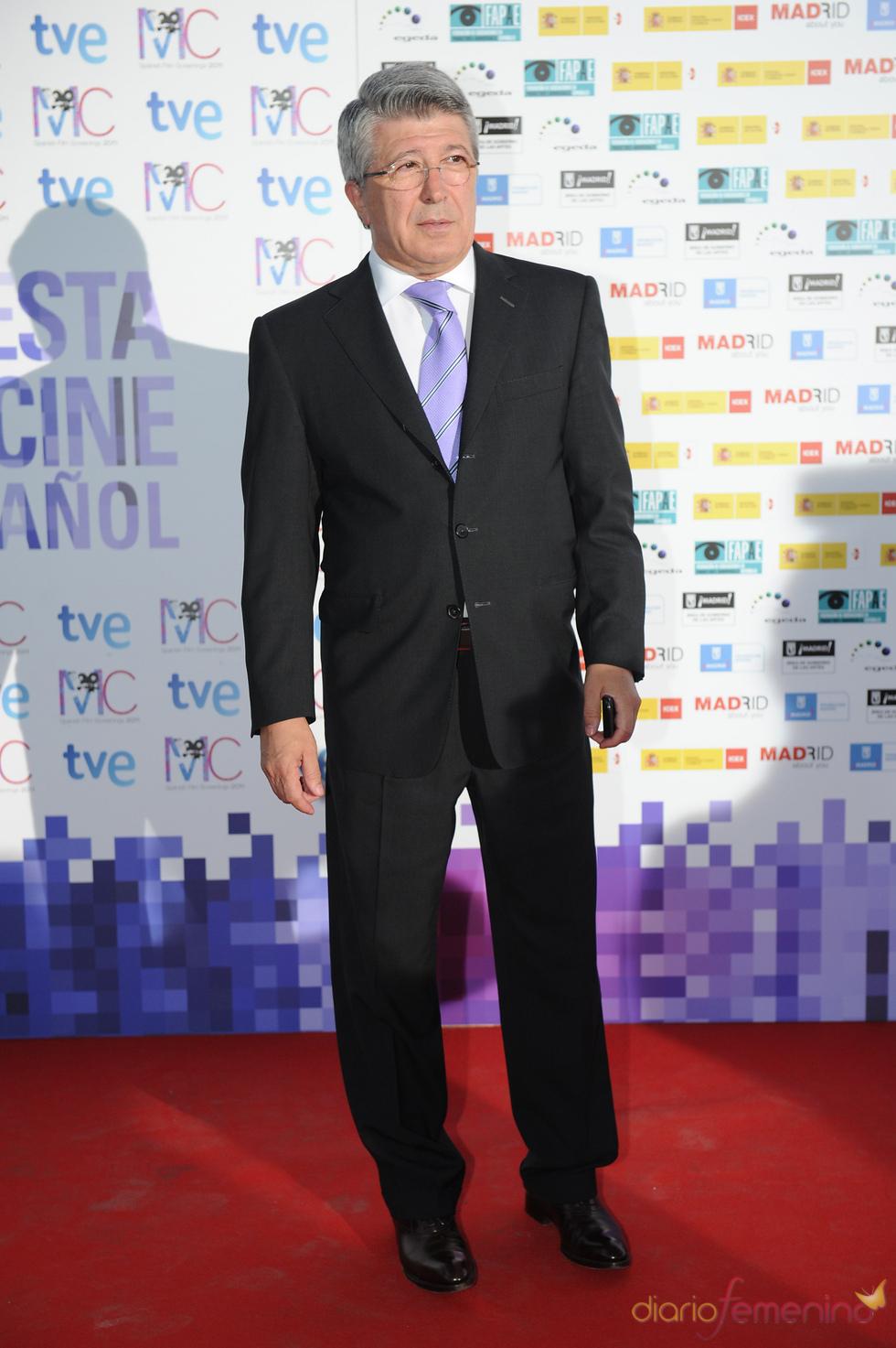 Enrique Cerezo en la Fiesta del Cine español