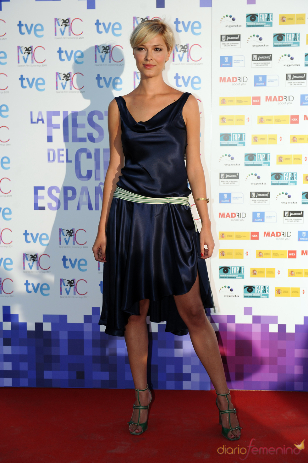 Cristina Urgel en la Fiesta del Cine español