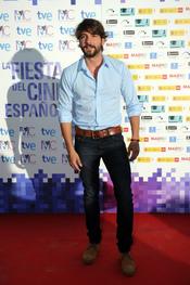 Félix Gómez en la Fiesta del Cine español