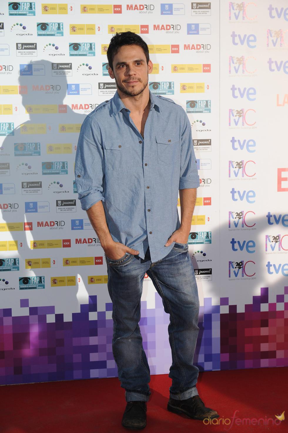 Bart Santana en la Fiesta del Cine español