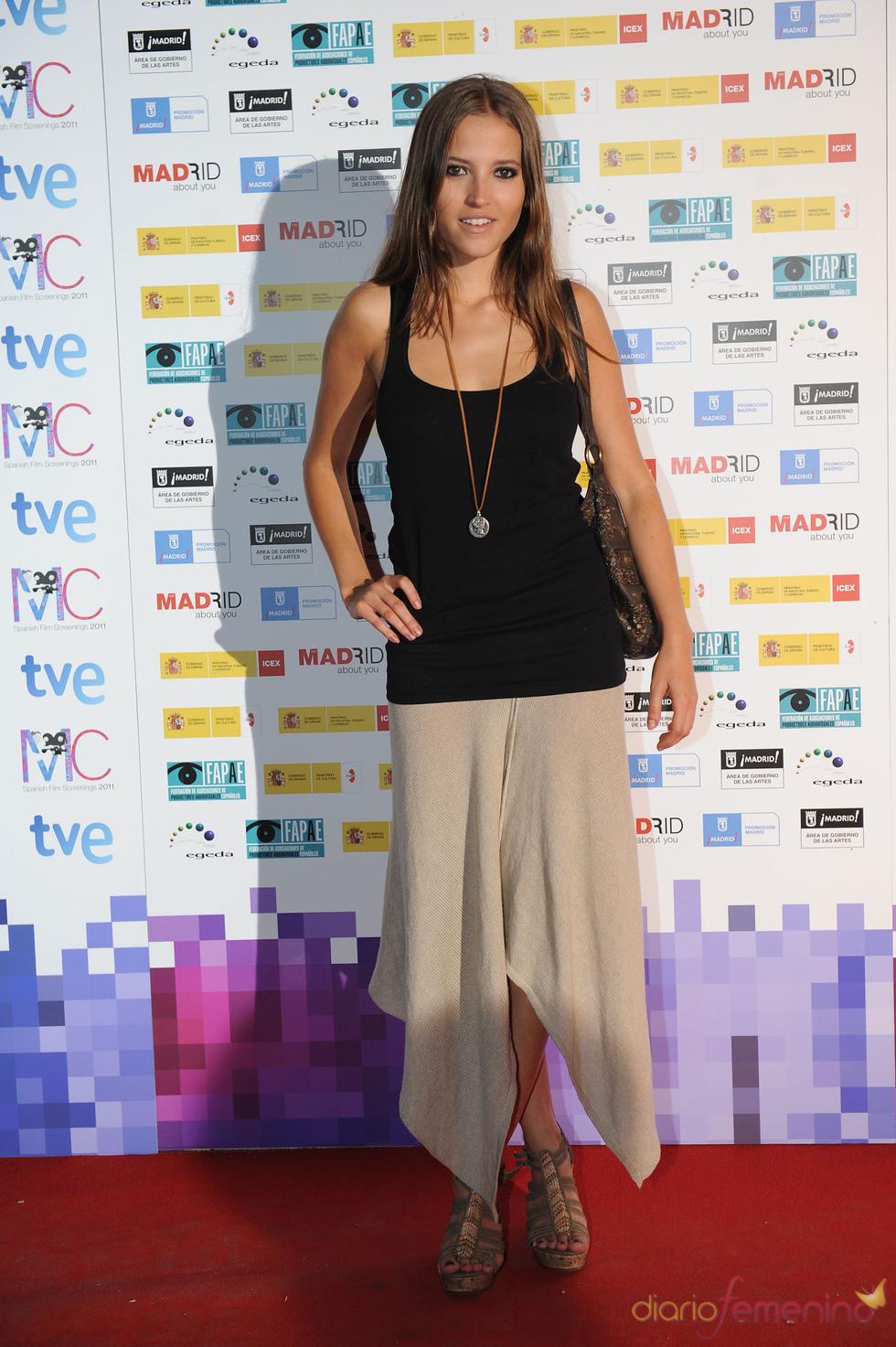 Ana Fernández en la Fiesta del Cine español