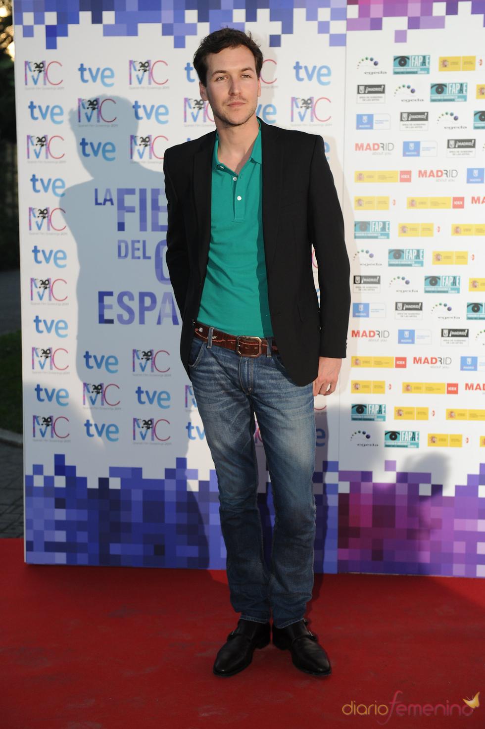 Jorge Suquet en la Fiesta del Cine español