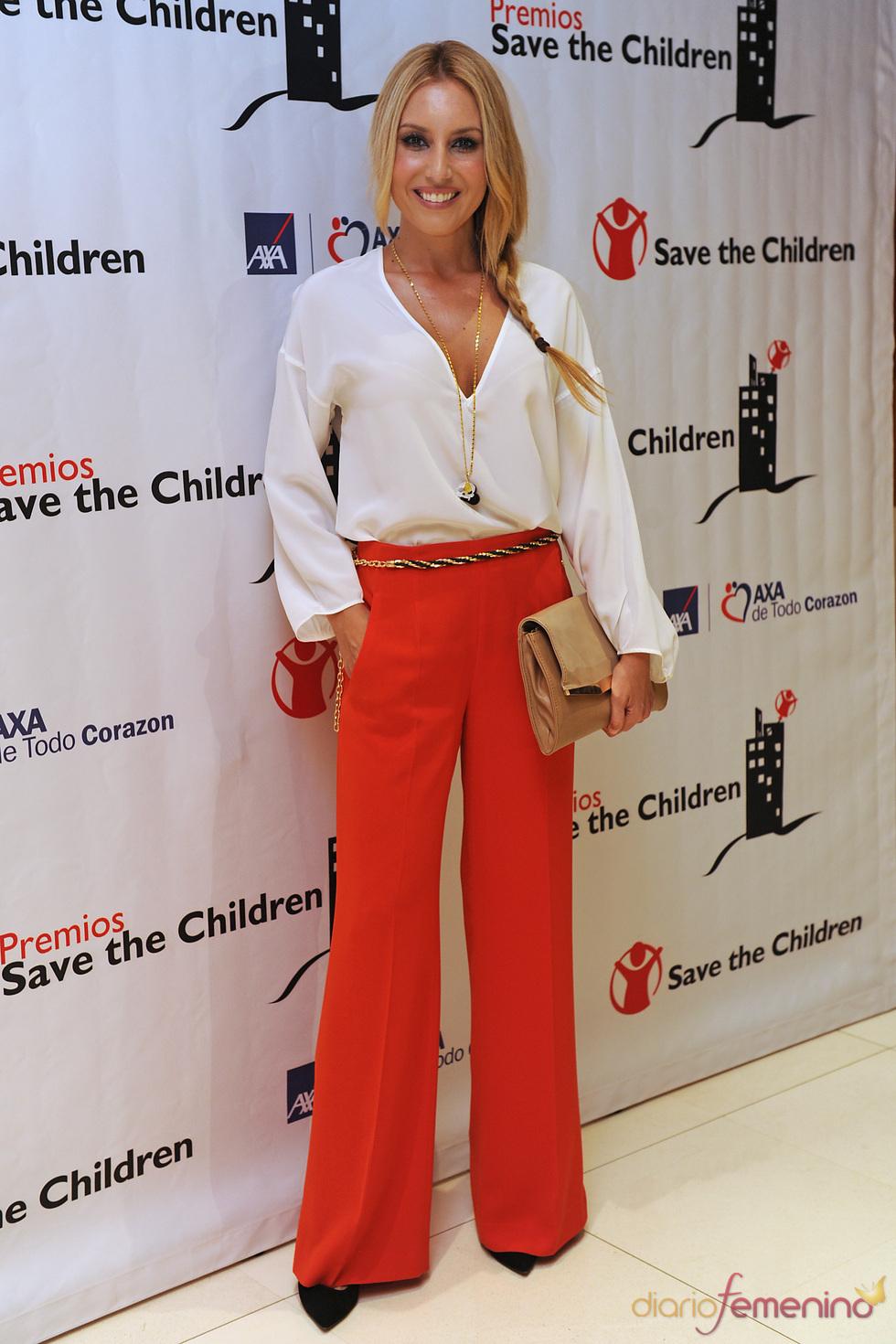 Berta Collado en los premios Save the children 2011