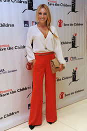 Berta Collado en los premios Save the children 2011