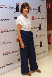 Concha García Campoy en los premios Save the children 2011