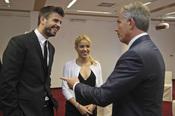 Shakira y Gerard Piqué juntos por la educación de los niños en Israel