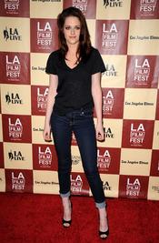 Kristen Stewart en la proyección de 'A better life', en Los Ángeles
