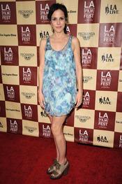 Mary Louise Parker en la proyección de 'A better life' en Los Ángeles