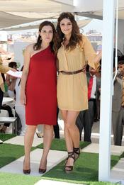 Olivia Molina y Ángela Molina