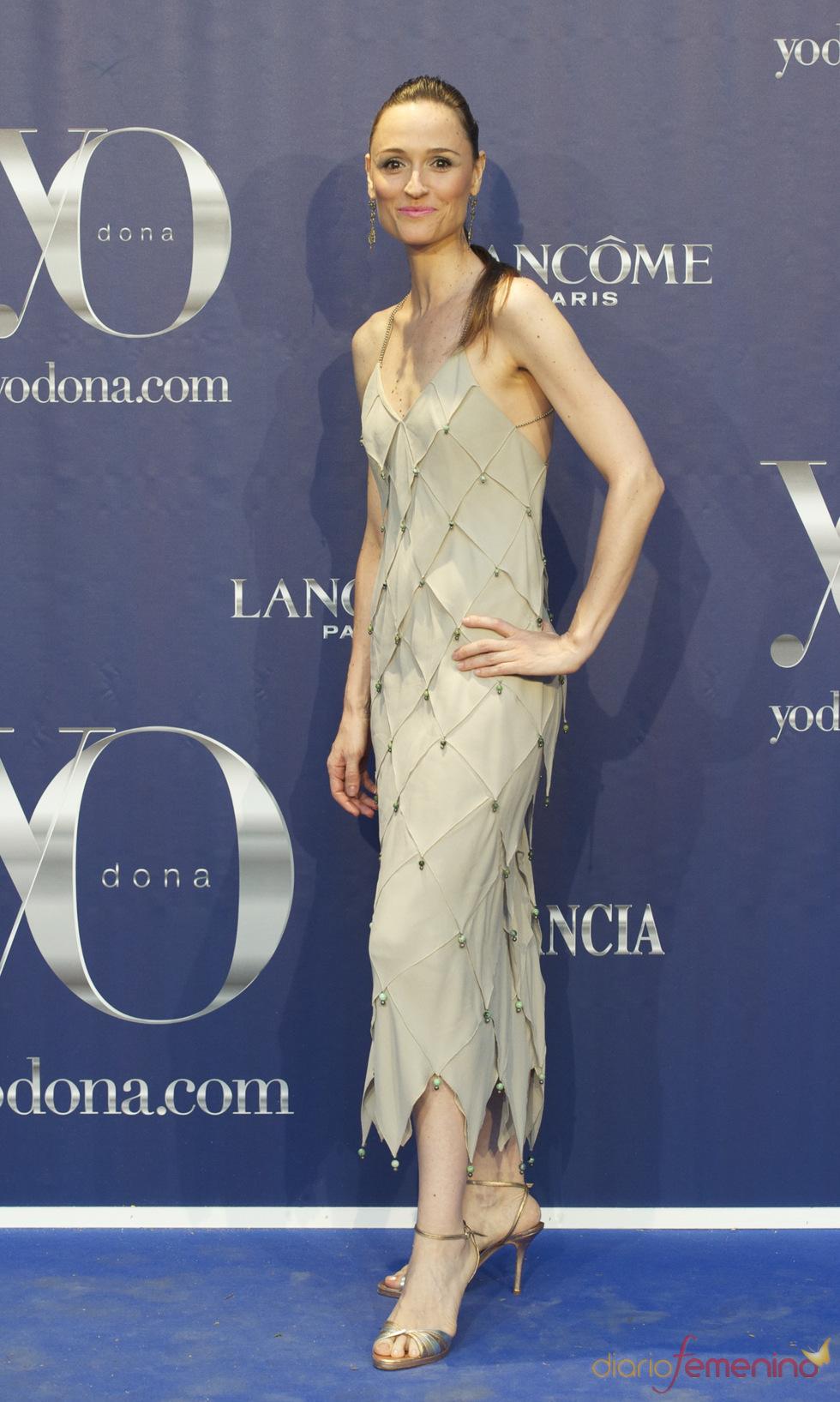 Laura Pamplona en los Premios Internacionales Yo Dona 2011