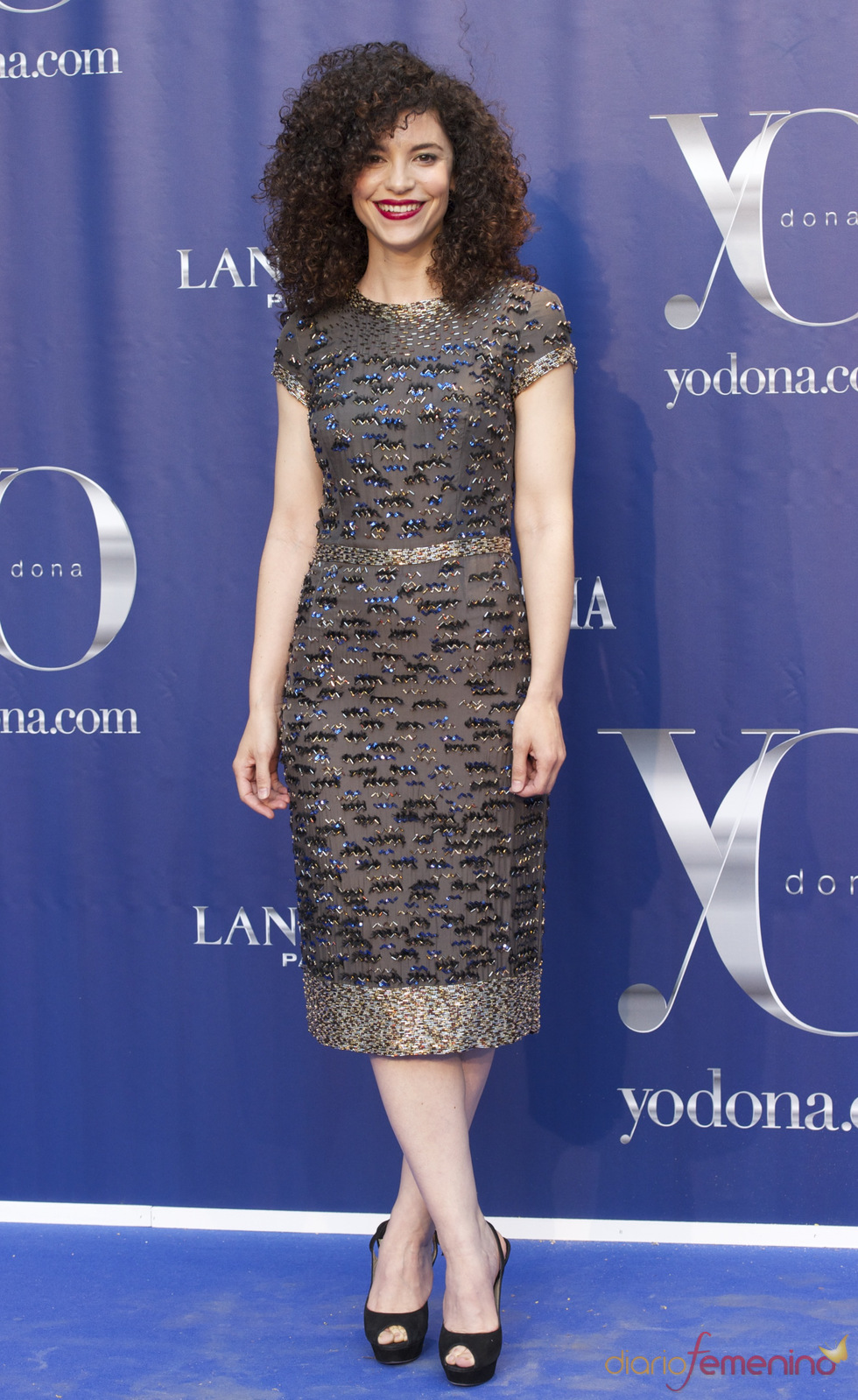 Irene Visedo en los Premios Internacionales Yo Dona 2011