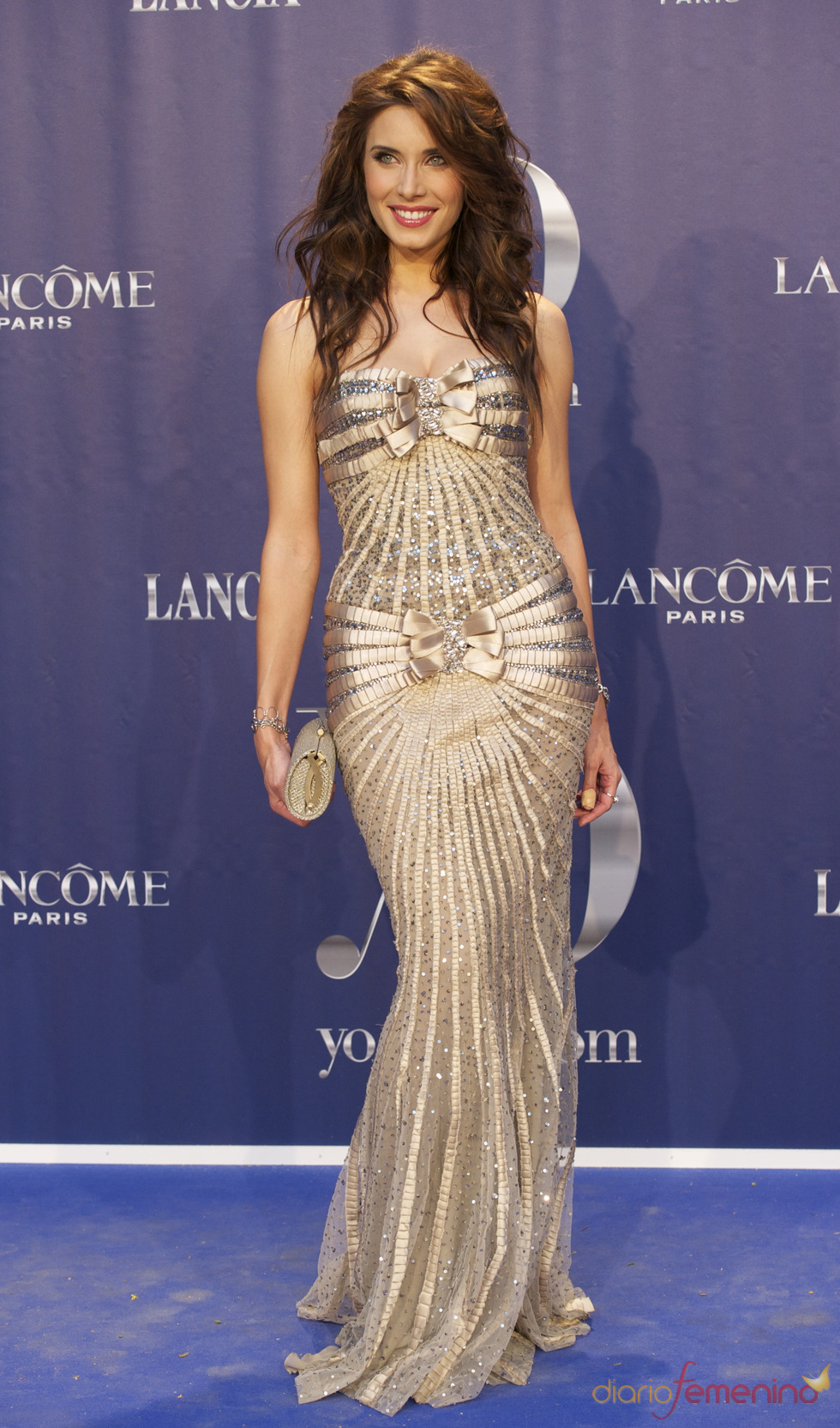 Pilar Rubio en los Premios Internacionales Yo Dona 2011