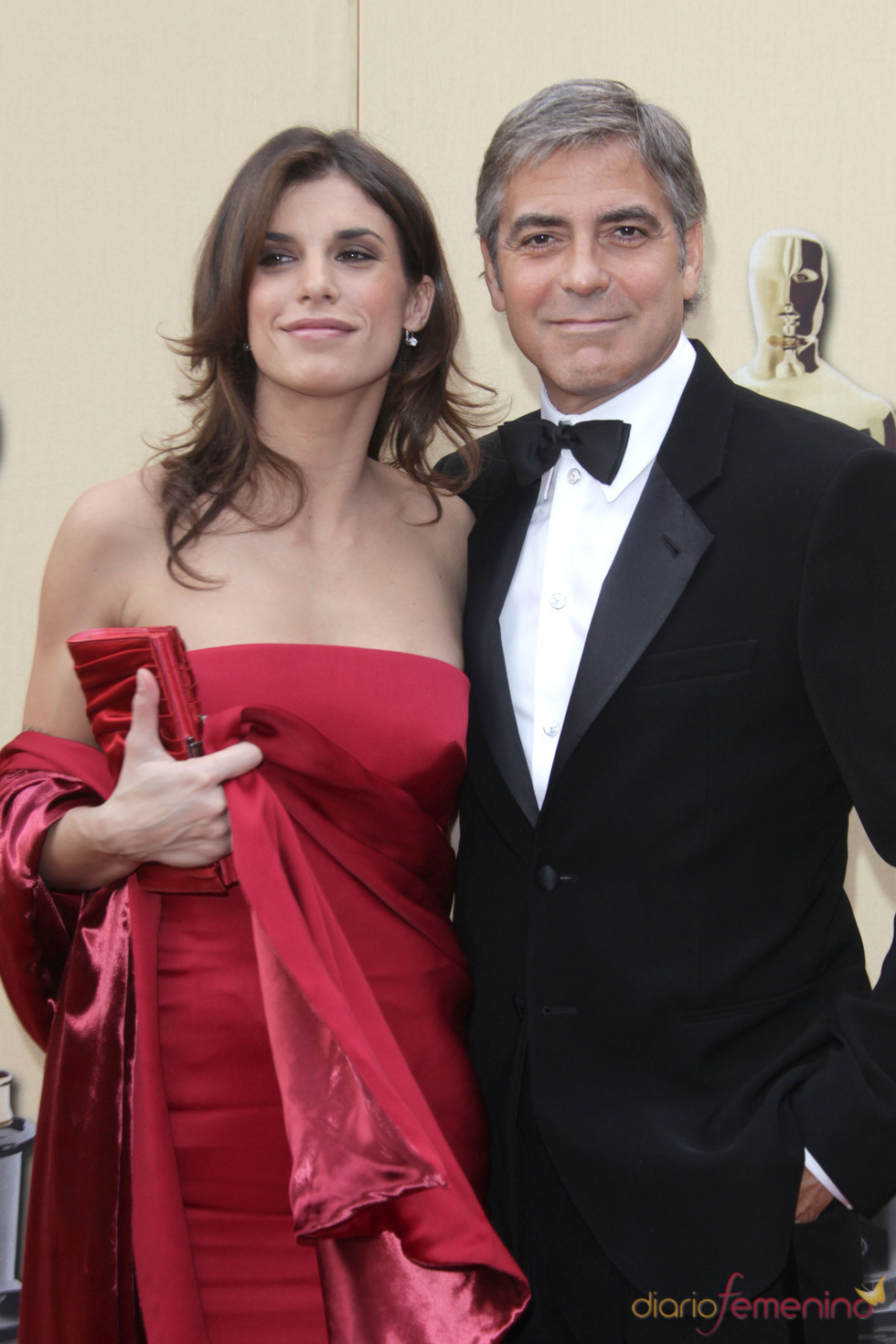 George Clooney y Elisabetta Canalis anuncian su ruptura