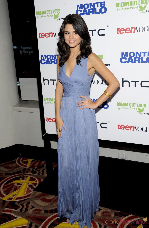 Selena Gomez en la 'premiere' de 'Monte Carlo' en Nueva York