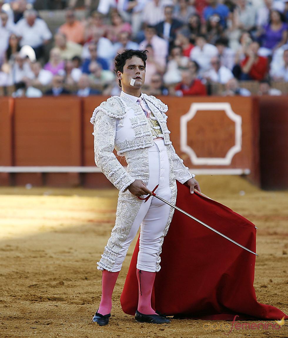 Miguel Abellán torea en Sevilla