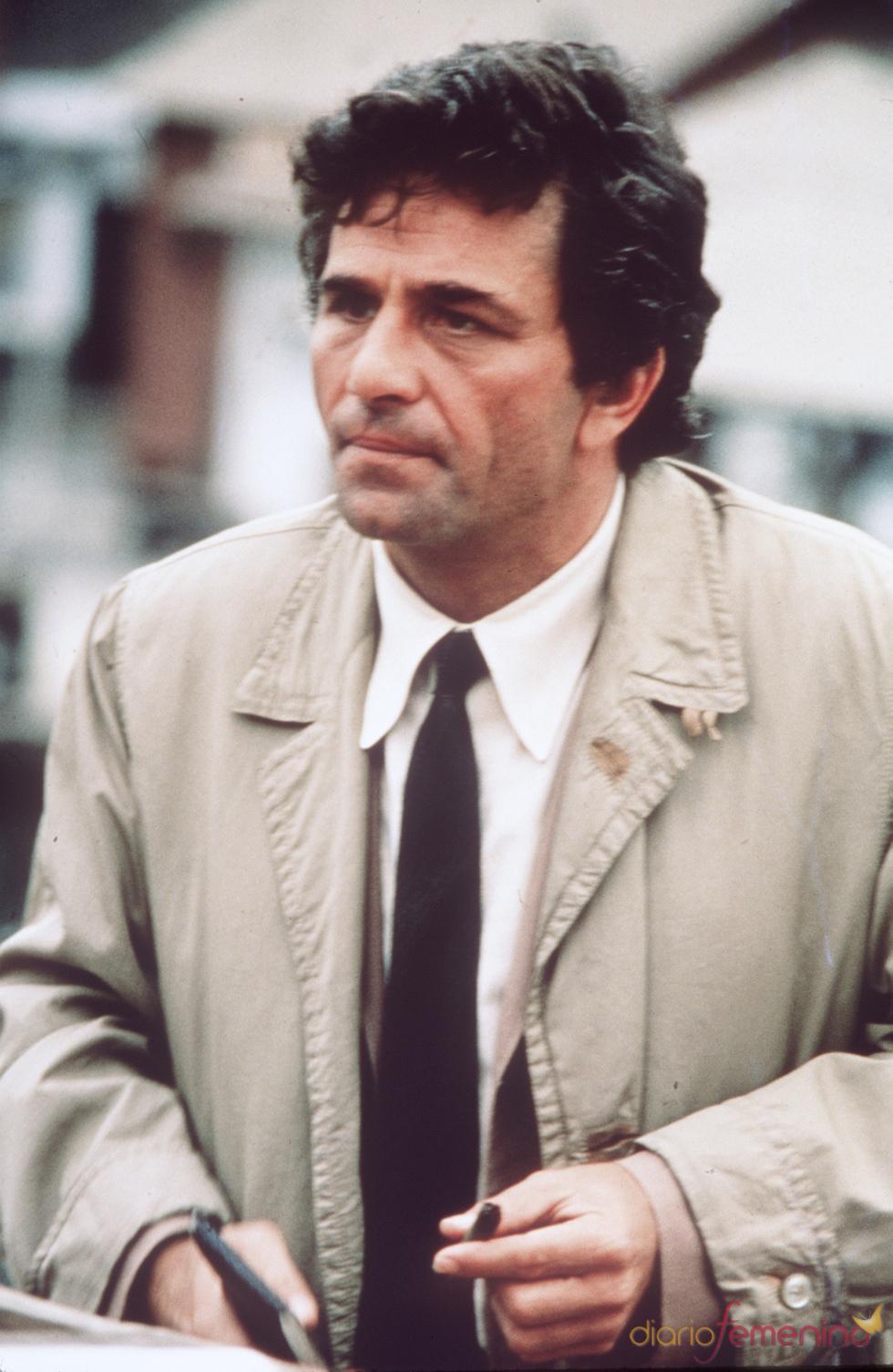 Peter Falk, el detective 'Colombo'