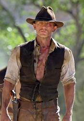 Daniel Craig en la película 'Cowboys & Aliens'