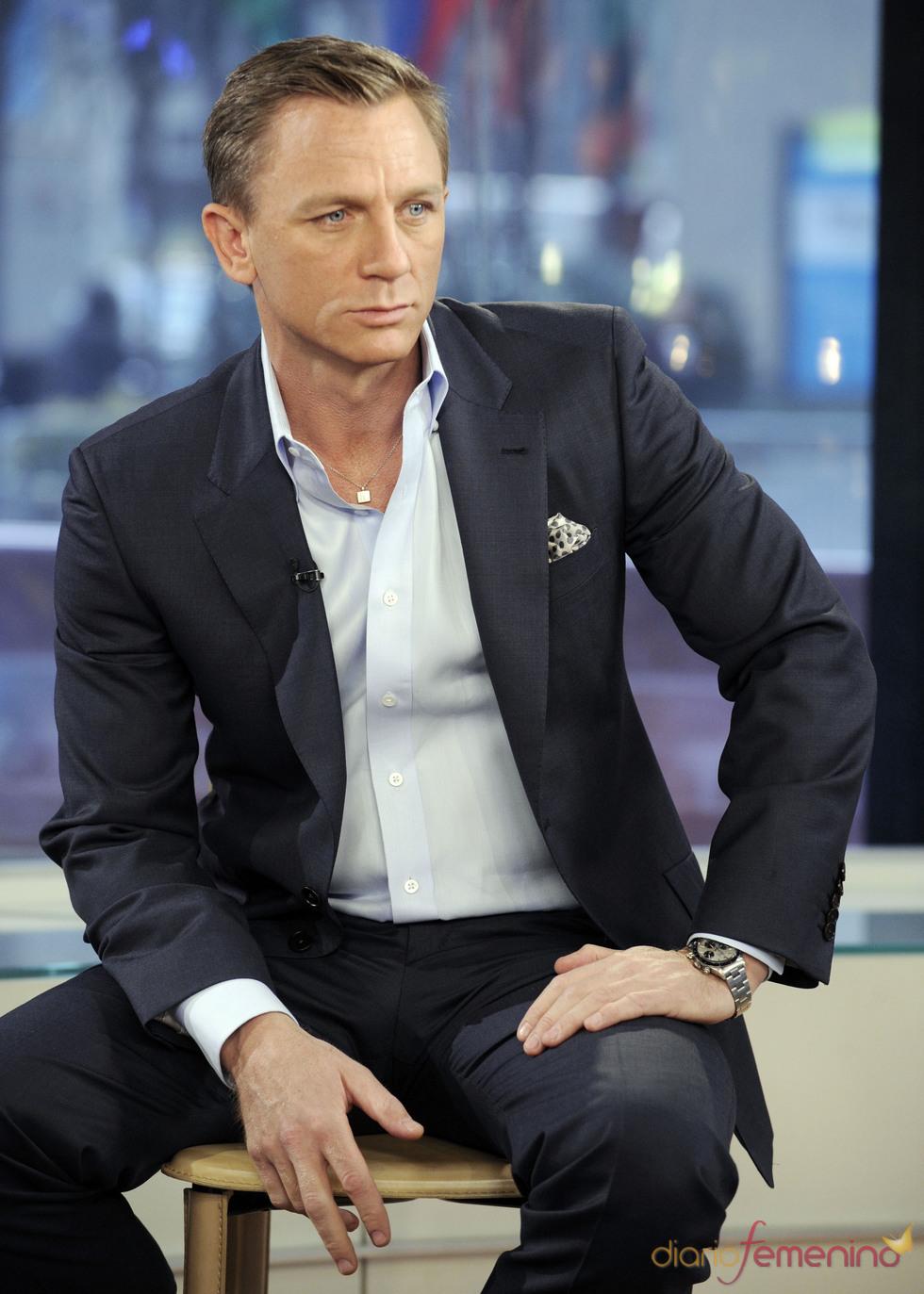 Daniel Craig durante una aparición en el programa 'Today' de la NBC